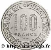100 Francs CFA – revers