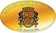 100 Francs CFA (Championnat d'Europe de football France 2016) – avers