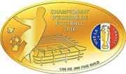 100 Francs CFA (Championnat d'Europe de football France 2016) – revers