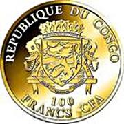 100 francs CFA (Max et Moritz) – avers
