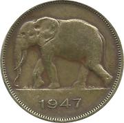 5 francs - Régence du Prince Charles – avers