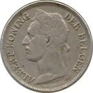 1 franc - Albert Ier (en néerlandais) – avers