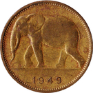 1 franc - Léopold III – avers