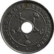 5 centimes - Albert I – avers