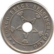 20 centimes - Albert I – avers