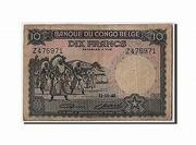 10 Francs Banque du Congo Belge Multicolore -  avers