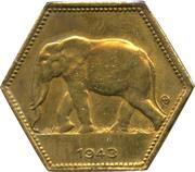2 francs - Léopold III – avers