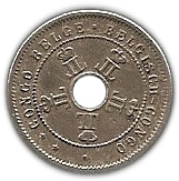 5 centimes - Leopold II – avers
