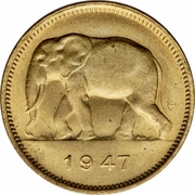 2 francs - Régence du Prince Charles – avers