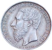 1 franc - Léopold II – avers