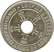5 centimes - Léopold II – avers