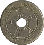 10 centimes - Léopold II – avers