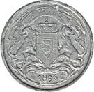 5 Francs - Léopold II (Trial Strike) – revers