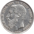 50 centimes - Léopold II – avers