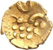 1 Fanam - Chickvirappa Wodeyar (Coorg) – revers