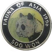 Fauna of Asia - Panda – revers