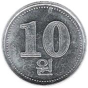 10 won -  revers