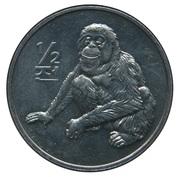 ½ chon (orang-outang) – revers