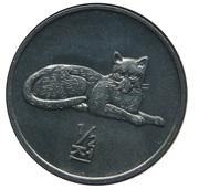 ½ chon (léopard) – revers