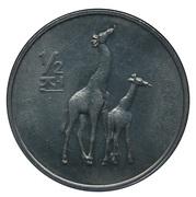 ½ chon (girafes) – revers