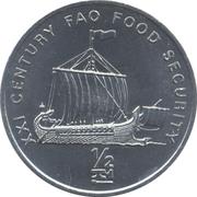 ½ chon (bateau antique) – revers