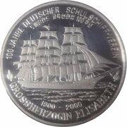 1 won Association allemande des navires-écoles – revers