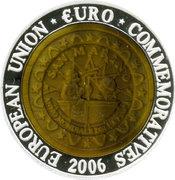700 Won / European Union Euro Commemoratives - San Marino – revers