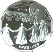 20000 Won – revers