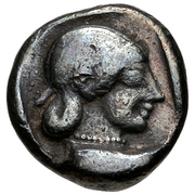 Hemidrachm (Corinth) – revers