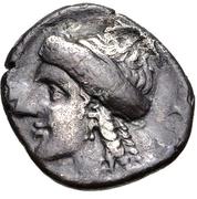 Drachm (Corinth) – revers