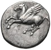 Drachm (Corinth) – avers