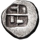 Obol (Corinth) – revers