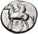 Stater (Corinth) – avers