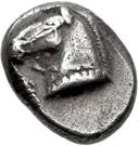 Diobol (Corinth) – avers