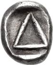 Diobol (Corinth) – revers