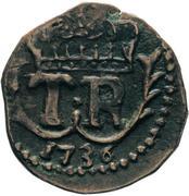 2 ½ soldi - Theodore I – avers