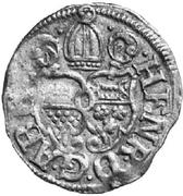 1 Groschen - Heinrich V. von Aschenbrock (Kipper) – avers