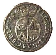 1 pfennig Florenz von dem Felde – avers
