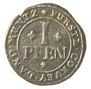 1 pfennig Florenz von dem Felde – revers