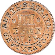 4 Pfennig - Theodor Abbot – revers