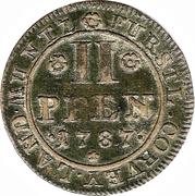 II Pfenning - Theodor Abbot – revers