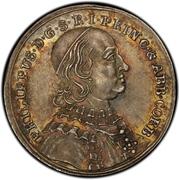 1 ducat Philipp von Spiegel zum Desenberg (Frappe essai en argent) – avers