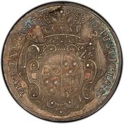 1 ducat Philipp von Spiegel zum Desenberg (Frappe essai en argent) – revers