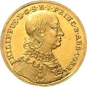 1 Ducat - Philipp von Spiegel zum Desenberg – avers