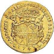 1 ducat Caspar de Böselager – avers