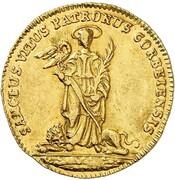 1 ducat Caspar de Böselager – revers