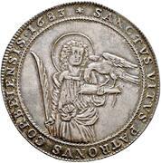 1 thaler Christoph de Bellinghausen – revers