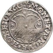 1 Mariengroschen - Reinhard II von Buchholtz – avers