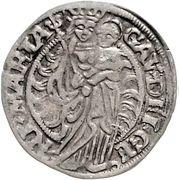 1 Mariengroschen - Reinhard II von Buchholtz – revers