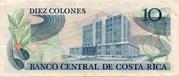 10 Colones – revers